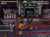 WCW Nitro Windows A leg drop by Macho Man