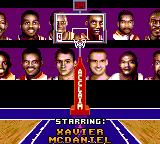 NBA Jam Tournament Edition Game Gear All licensed players.