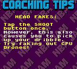 NBA Jam Tournament Edition Game Gear Coaching tips.