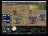 MS Saga: A New Dawn PlayStation 2 Desert battle; make sure your mobile suit doesn't overheat!