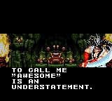 Samurai Shodown Game Gear Oh my, I'm so perfect!