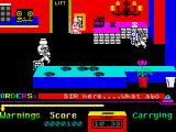 Grumpy Gumphrey Supersleuth ZX Spectrum The boss can be a slave-driver