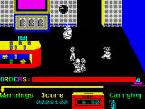 Grumpy Gumphrey Supersleuth ZX Spectrum Avoid the other employees