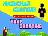 Marksman Shooting & Trap Shooting SEGA Master System What's your poison?