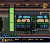 Star Trek: Deep Space Nine - Crossroads of Time SNES Talking to Dax