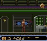 Star Trek: Deep Space Nine - Crossroads of Time SNES Talking to Odo