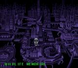 Phantom 2040 SNES The city map