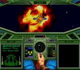 Wing Commander SNES Booom ... a cat less !