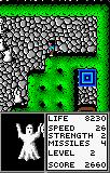 Gauntlet: The Third Encounter Lynx The second level has ghosts instead of scorpions