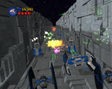 LEGO Star Wars II: The Original Trilogy Windows The Death Star trench run.