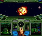 Wing Commander: The Secret Missions SNES Enemy shot down !