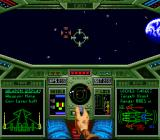 Wing Commander: The Secret Missions SNES Enemy locked > ready to fire a missile