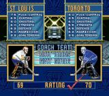 Brett Hull Hockey 95 SNES St. Louis vs Toronto