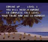 The Humans SNES Welcome to level 1