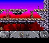 The Humans SNES Level 1