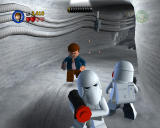 LEGO Star Wars II: The Original Trilogy Windows Imperial snowtroopers are attacking the base on the ice planet Hoth.