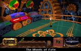 The Legend of Kyrandia: Hand of Fate DOS Zanthia going to fix the wheels of fate, Rambo style!
