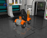 LEGO Star Wars II: The Original Trilogy Windows The game allows you to build and ride vehicles.