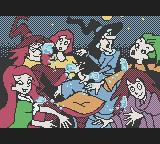 Bibi Blocksberg: Im Bann der Hexenkugel Game Boy Color Scene from intro: Witches going mad