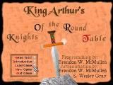 King Arthur's K.O.R.T DOS Main Menu