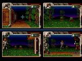 Hired Guns Amiga Some new scenery, beware the bushes which will hatch after a given time