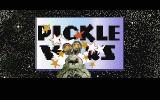 Pickle Wars DOS Main Title Screen
