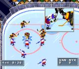 NHL 95 SNES Face off