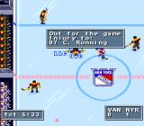 NHL 95 SNES Injury