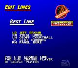 NHL 95 SNES Edit lines