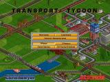 Transport Tycoon DOS Main menu