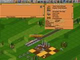 Transport Tycoon DOS Building a new train
