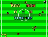 World Championship Soccer SEGA Master System Brazil and Romania end tied.