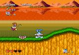 Tiny Toon Adventures: Buster's Hidden Treasure Genesis It can be hard to spot those teeth when Buster is running at full speed