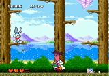 Tiny Toon Adventures: Buster's Hidden Treasure Genesis After stomping on Dr. Splicer's head, you'll have to wait before you can hit him again