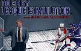 Hockey League Simulator Amiga Title Screen