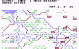 NATO Commander Commodore 64 In game map