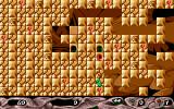 Stone Age Amiga Level 79 - the labyrinth full of red keys