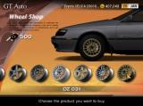 Gran Turismo 4 PlayStation 2 Customize appearance with a new set of wheels