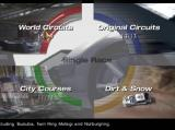 Gran Turismo 4 PlayStation 2 Arcade track type selection screen
