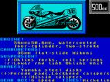 The Cycles: International Grand Prix Racing ZX Spectrum Bike details