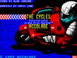 The Cycles: International Grand Prix Racing ZX Spectrum Loading screen