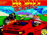 RoadBlasters ZX Spectrum Loading screen