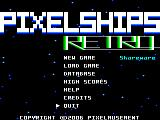 PixelShips Retro Windows Title Screen