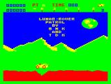 Lunar Rover Patrol Dragon 32/64 The game starts