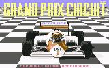 Grand Prix Circuit Commodore 64 Title screen