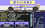 Grand Prix Circuit Commodore 64 Technical details [Williams]