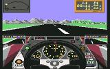Grand Prix Circuit Commodore 64 During the Qualify ... [McLaren]