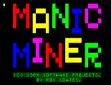 Manic Miner Dragon 32/64 Loading screen