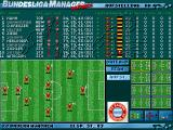 Football Limited DOS Formation screen