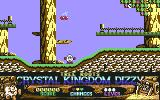Crystal Kingdom Dizzy Commodore 64 The beginning location.